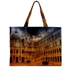 Palace Monument Architecture Zipper Mini Tote Bag by Celenk