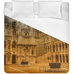 Palace Monument Architecture Duvet Cover (king Size)
