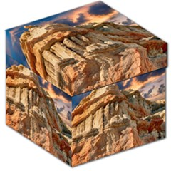 Canyon Dramatic Landscape Sky Storage Stool 12