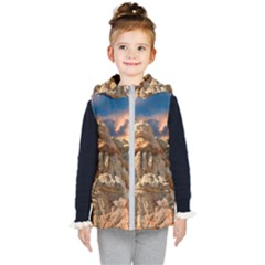 Canyon Dramatic Landscape Sky Kid s Puffer Vest