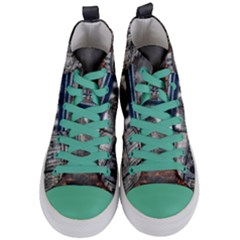 Destruction City Building Women s Mid-top Canvas Sneakers