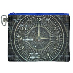 Time Machine Science Fiction Future Canvas Cosmetic Bag (xxl) by Celenk