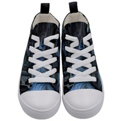 Fractal Design Kid s Mid Top Canvas Sneakers