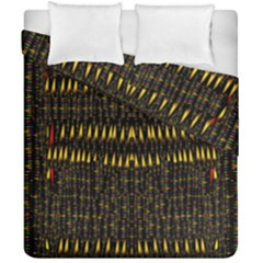 Hot As Candles And Fireworks In The Night Sky Duvet Cover Double Side (california King Size)