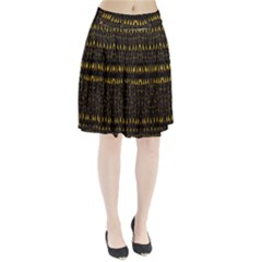 Hot As Candles And Fireworks In The Night Sky Pleated Skirt by pepitasart