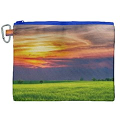 Countryside Landscape Nature Rural Canvas Cosmetic Bag (xxl)