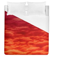 Red Cloud Duvet Cover (queen Size) by Celenk