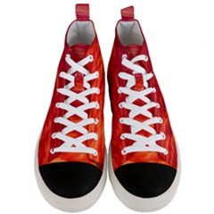 Red Cloud Men s Mid Top Canvas Sneakers