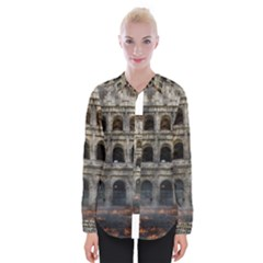 Colosseum Italy Landmark Coliseum Womens Long Sleeve Shirt