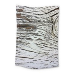 Wood Knot Fabric Texture Pattern Rough Small Tapestry