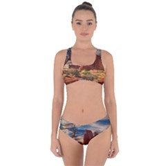 Bryce Canyon Usa Canyon Bryce Criss Cross Bikini Set
