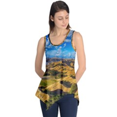 Hills Countryside Landscape Rural Sleeveless Tunic