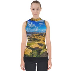 Hills Countryside Landscape Rural Shell Top