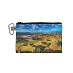 Hills Countryside Landscape Rural Canvas Cosmetic Bag (small)