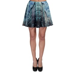 Storm Weather Thunderstorm Nature Skater Skirt
