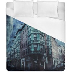 Storm Weather Thunderstorm Nature Duvet Cover (california King Size)