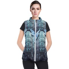 Storm Weather Thunderstorm Nature Women s Puffer Vest