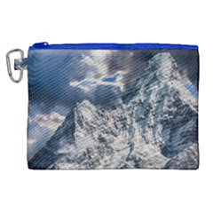 Mountain Snow Winter Landscape Canvas Cosmetic Bag (xl) by Celenk