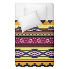 Colorful Tribal Art   Boho Pattern Duvet Cover Double Side (single Size) by tarastyle