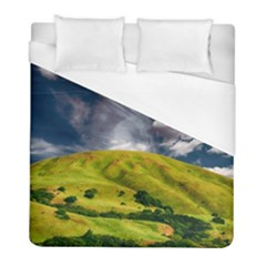 Hill Countryside Landscape Nature Duvet Cover (full/ Double Size)