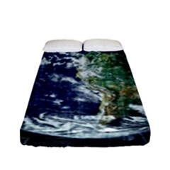 Earth Internet Globalisation Fitted Sheet (full/ Double Size) by Celenk