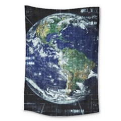 Earth Internet Globalisation Large Tapestry
