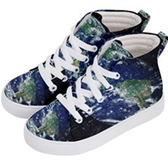 Earth Internet Globalisation Kid s Hi Top Skate Sneakers by Celenk