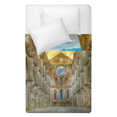 Abbey Ruin Architecture Medieval Duvet Cover Double Side (single Size)