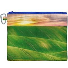 Hills Countryside Sky Rural Canvas Cosmetic Bag (xxxl) by Celenk