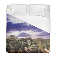 Mountain Snow Landscape Winter Duvet Cover (full/ Double Size) by Celenk