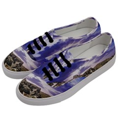 Mountain Snow Landscape Winter Men s Classic Low Top Sneakers by Celenk