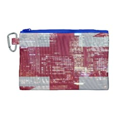 London England City Canvas Cosmetic Bag (large) by Celenk