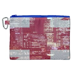 London England City Canvas Cosmetic Bag (xl)
