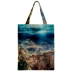 Canyon Mountain Landscape Nature Zipper Classic Tote Bag by Celenk