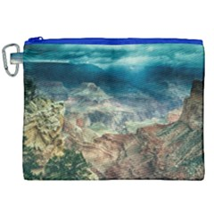 Canyon Mountain Landscape Nature Canvas Cosmetic Bag (xxl)