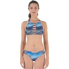 Nature Landscape Mountains Slope Perfectly Cut Out Bikini Set