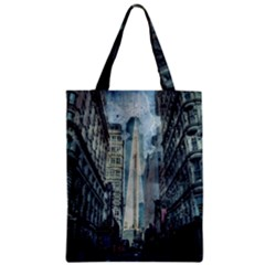 Storm Damage Disaster Weather Zipper Classic Tote Bag by Celenk