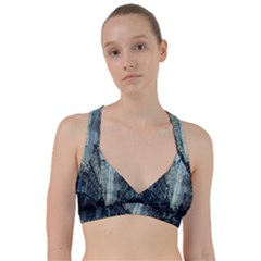 Storm Damage Disaster Weather Sweetheart Sports Bra by Celenk