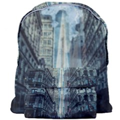 Storm Damage Disaster Weather Giant Full Print Backpack by Celenk