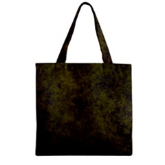 Green Background Texture Grunge Zipper Grocery Tote Bag by Celenk