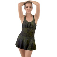 Green Background Texture Grunge Swimsuit