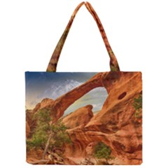 Canyon Desert Rock Scenic Nature Mini Tote Bag by Celenk