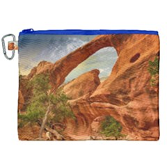 Canyon Desert Rock Scenic Nature Canvas Cosmetic Bag (xxl) by Celenk