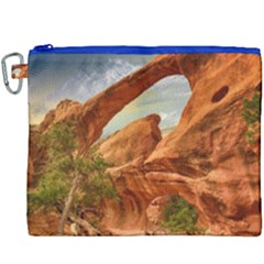 Canyon Desert Rock Scenic Nature Canvas Cosmetic Bag (xxxl) by Celenk