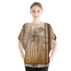 Forest Trees Wood Branc Blouse by Celenk