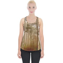 Forest Trees Wood Branc Piece Up Tank Top