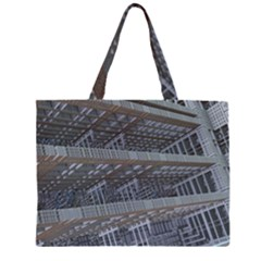 Ducting Construction Industrial Zipper Large Tote Bag by Celenk