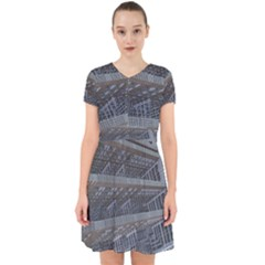 Ducting Construction Industrial Adorable In Chiffon Dress