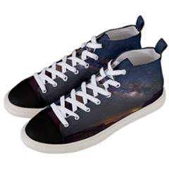 Fairyland Canyon Utah Park Men s Mid Top Canvas Sneakers by Celenk