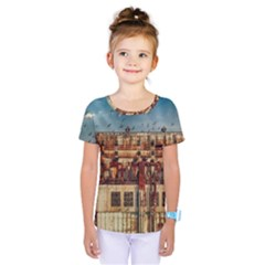 Ruin Abandoned Building Urban Kids  One Piece Tee by Celenk